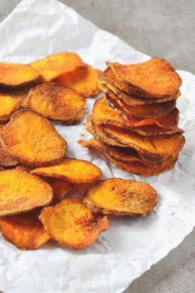 Chips de Batatas Doces