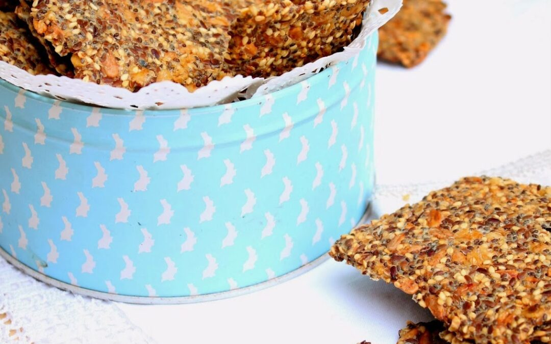 Crackers de Sementes