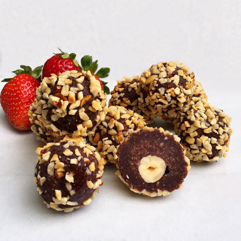 Ferrero Rochers Saudáveis
