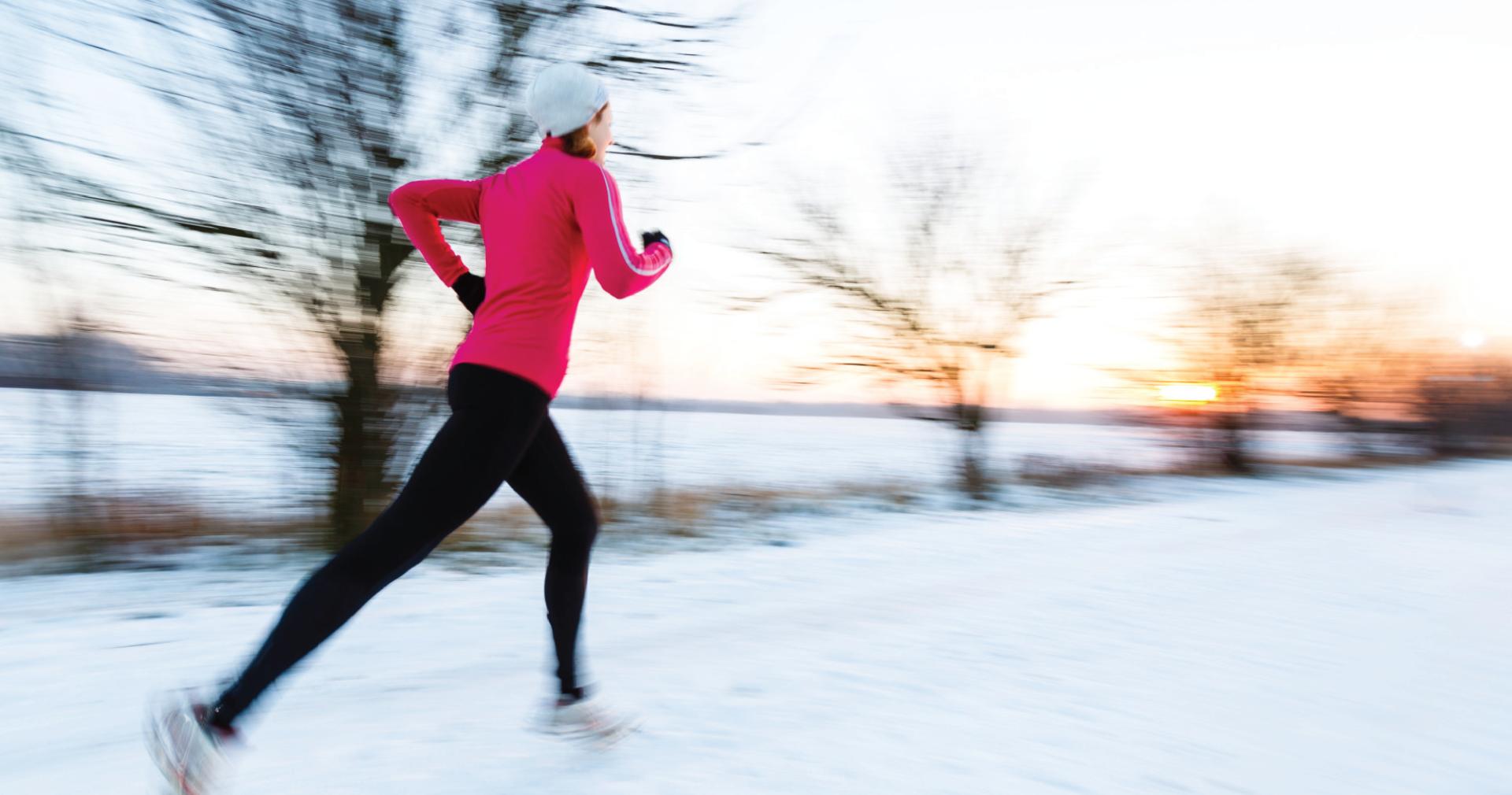 5 Razões para fazer exercício físico no Inverno