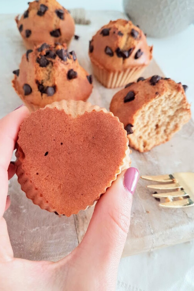 Muffins pepitas de chocolate!!