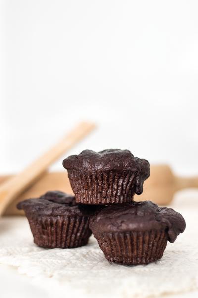 Muffins banana e chocolate