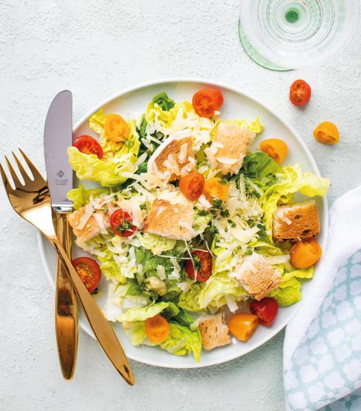 Como fazer uma salada saudável