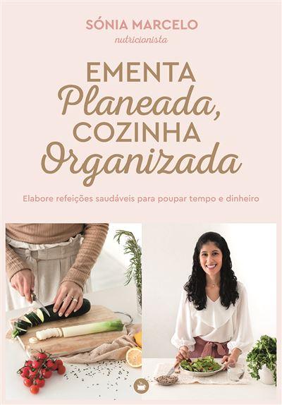 Livro Ementa Planeada Cozinha Organizada